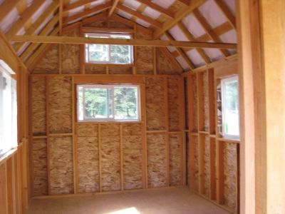 Tall Gambrel Shed 10 X 12 Free Gambrel Shed Plans Shed