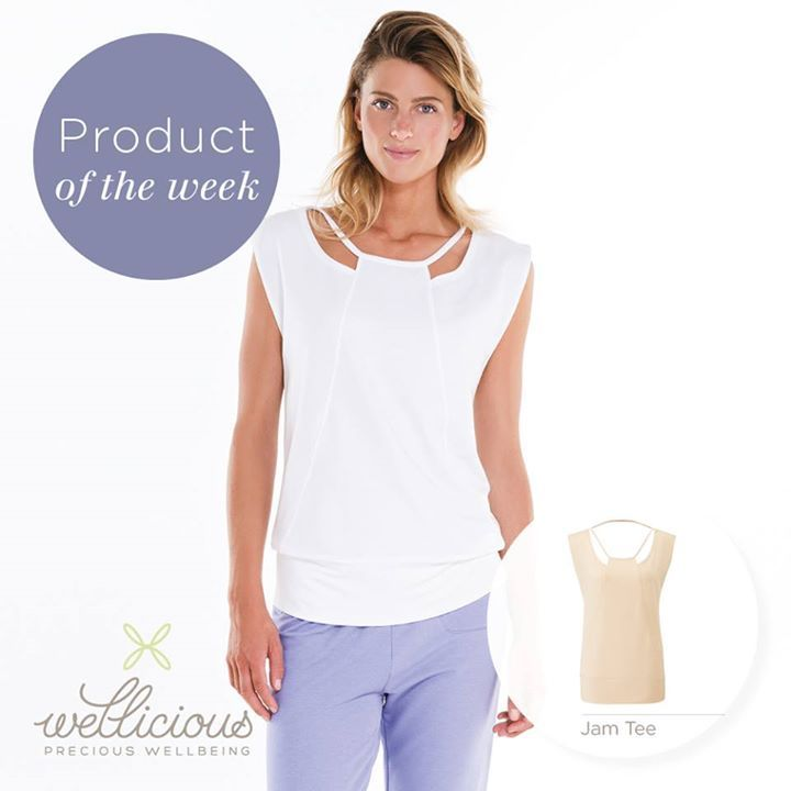 A perfect summer style; our Jam Tee. Available in refreshing colours such as White or Powder, and the fabric is so soft against the skin because of the eco-friendly Tencel and Organic Cotton blend!  Get yours now at: www.wellicious.com/jam-tee.html with up to 30% off through our Summer sale!!