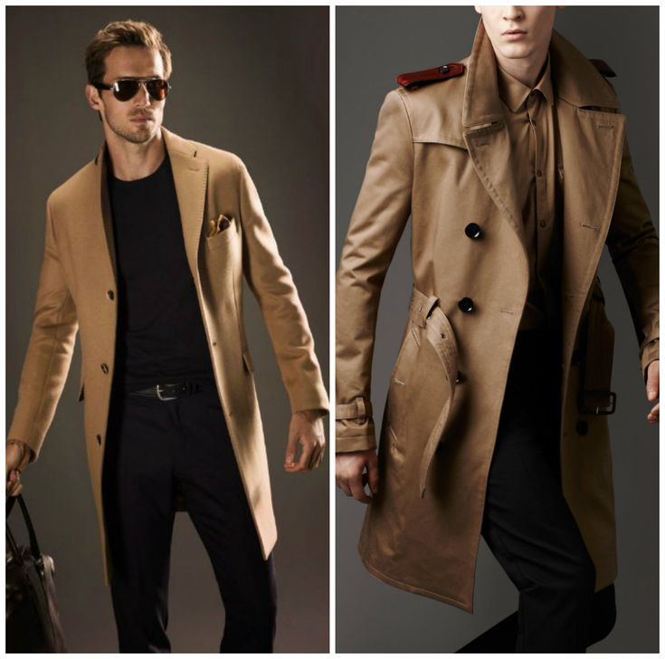 Mens Long Trench Coat | Fashideas.com