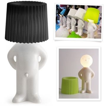 Mr P One Man Shy är lampan som lyser upp rummet i mer ...