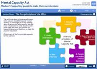 SCIE elearning: Mental Capacity Act