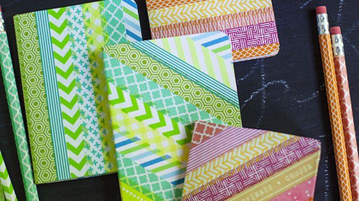 87 best images about tiles escolares ideas on pinterest - Ideas para decorar con washi tape ...