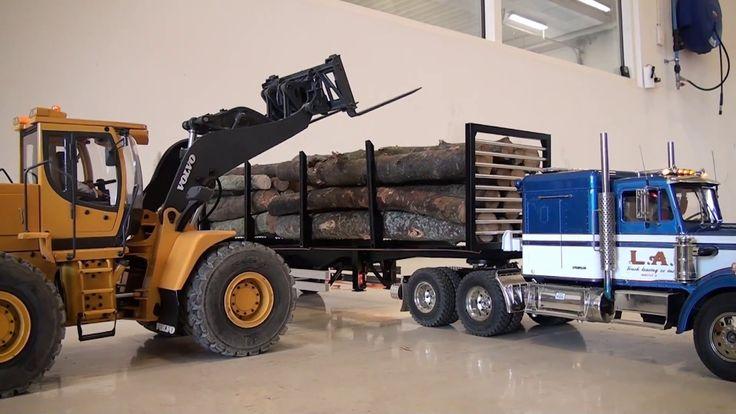 Rc Trucks (Chrisser, Unloading Logs)