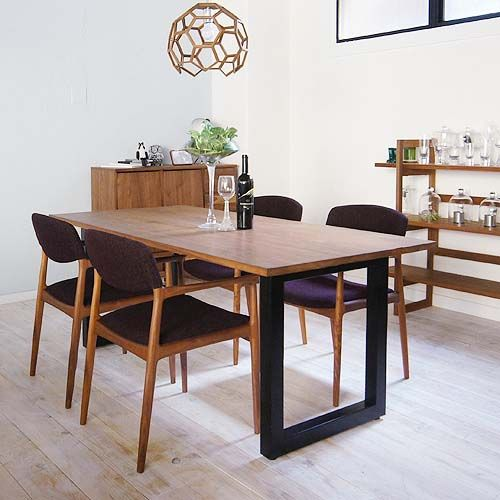 WILDWOOD DINING TABLE ワイルドウッド ダイニングテーブル [ ウォールナット ] - マスターウォールのテーブル通販   リグナ東京
