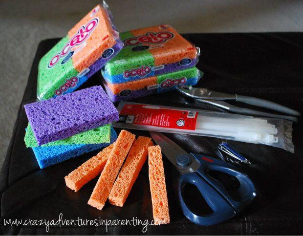 How-to sponge-bombs!
