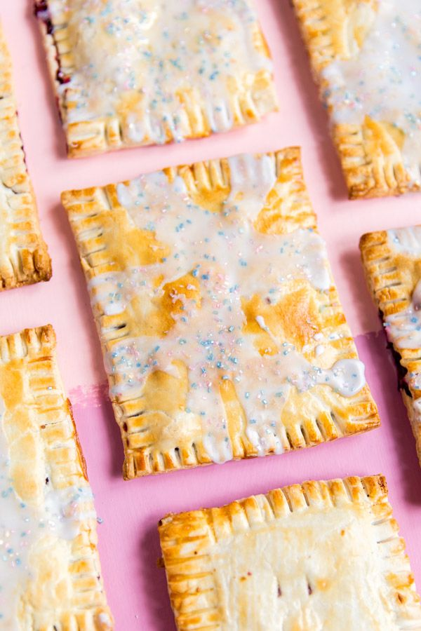 Homemade (Mixed Berry) Pop Tart Recipe - Paper and Stitch