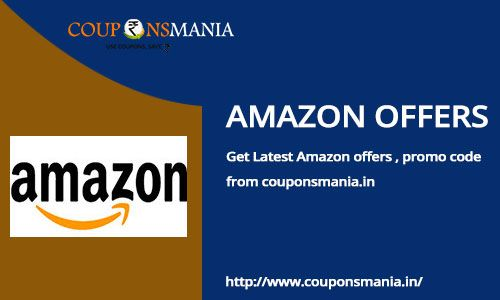 Find Collections of Amazon coupons, Free discount coupons, coupon codes, promotional codes, daily deals and promo codes for amazon.in