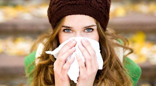 Erkältungen können mit Hausmittel gelindert werden.