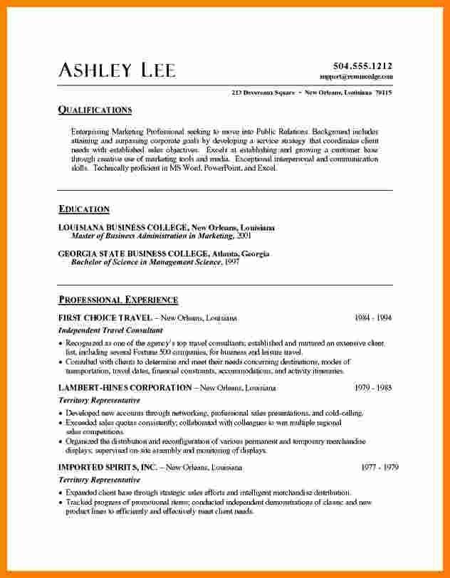 5 Cv Sample Format Word Theorynpractice Free Resume