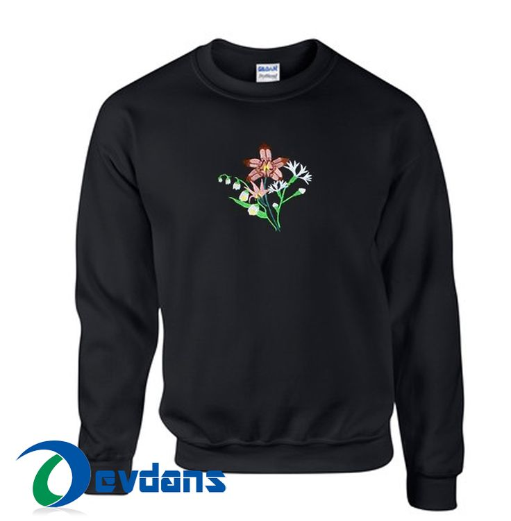 Tag a friend who would love this!     $23.99    Get it here ---> https://www.devdans.com/product/bouquet-embroidered-sweatshirt-unisex-adult-size-s-3xl/