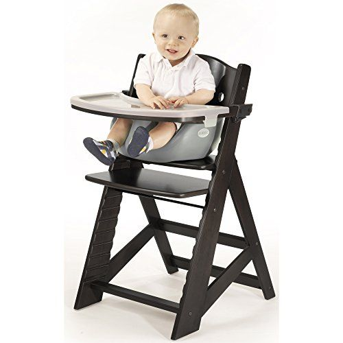 NEW KEEKAROO HEIGHT RIGHT ADJUSTABLE CHILD/'S WOOD CHAIR ESPRESSO
