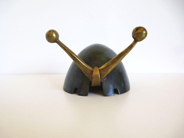 Mid Century Maurice Ascalon Pal Bell Snail Ashtray by HotCoolVintage on Etsy