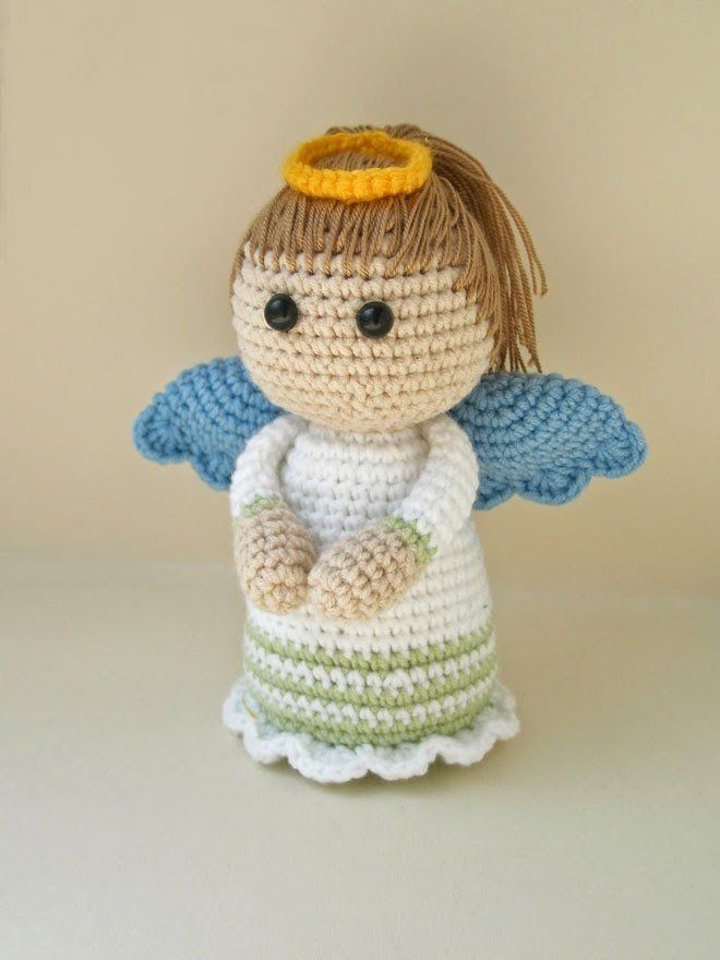 angel crochet amigurumi pattern