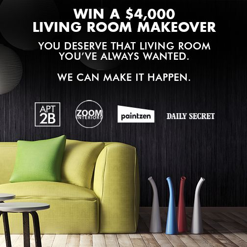 Win A $4,000 Living Room Makeover From @Apt2B, @Paintzen, @ZOOMinteriors, Part 37