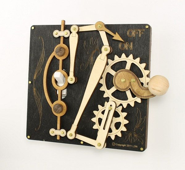 Black and White levered light switch!: Lights, Steampunk Switches, Green Trees, Single Lever, Lever Switch, Steampunk Gadgets, Light Switch Plates, Light Switches