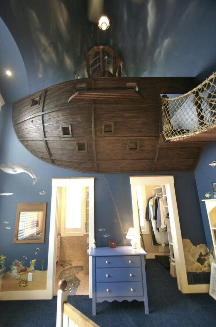 http://www.littlethings.com/amazing-pirate-themed-bedroom/