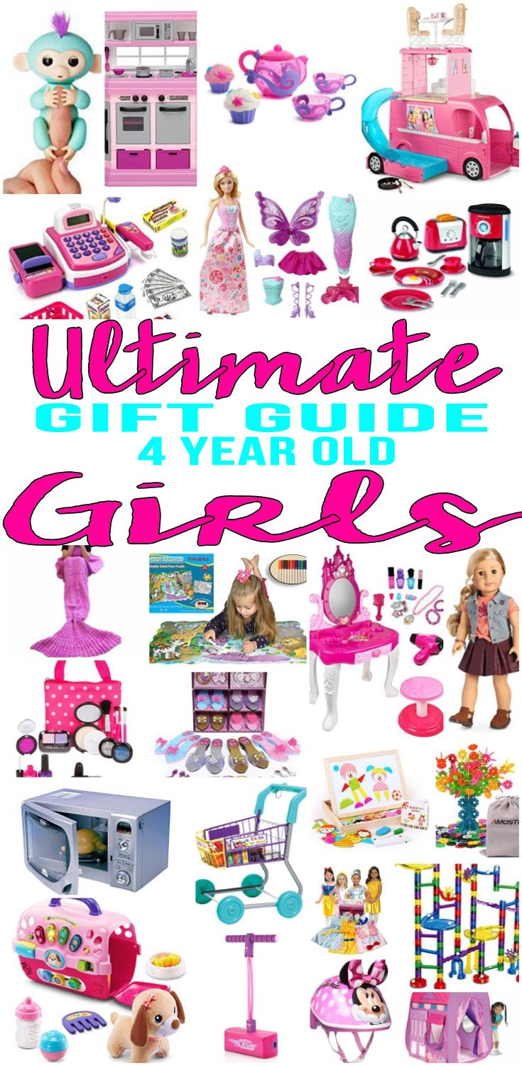 BEST Gifts 4 Year Old Girls! Top gift ideas that yr old girls will love! Find presents \u0026 suggestions for a 4th birthday, Christmas or just Best Girls Will Love