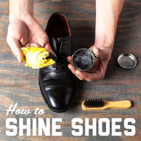 The GentleManual: How to Shine Your Shoes