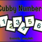 FREE! Print these cool numbers onto sticker paper to label students' cubbies!  Or, use them for anything else you need numbers for!...