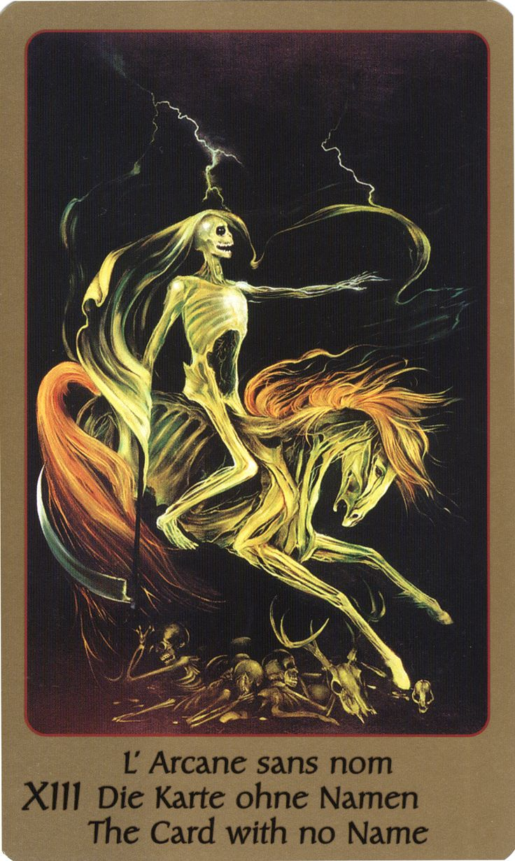 48 Best Images About Tarot: XIII Death On Pinterest