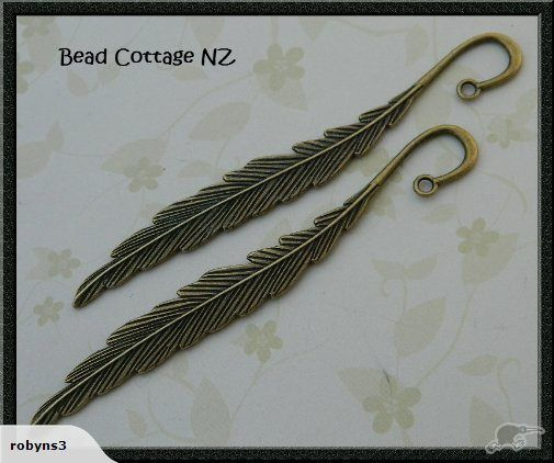 Bookmarks - Bronze Feather | Trade Me