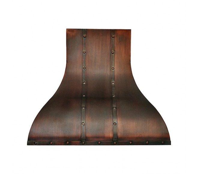 copper range hood wall island mount vent pics installation 30 inch