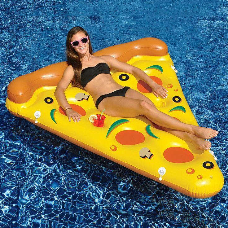 Надувная пицца. Заказать можно тут: http://ali.pub/sh1x8