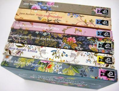 print & pattern | Jane Austen Novels by flip back___ maybe Christmas present