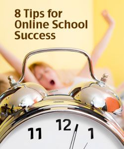 8 Top Tips for Student Success in Online School > Virtual Learning Connections | A Virtual School Blog by Connections Academy #online #college https://occu.info