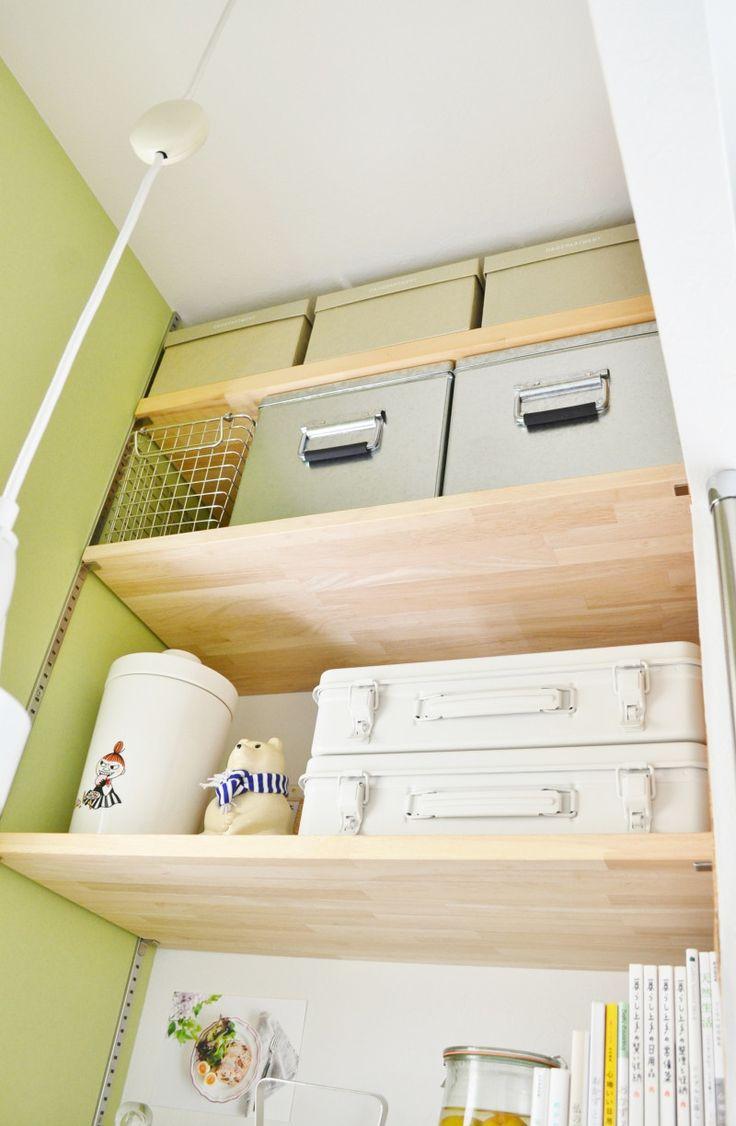 * 家事室 の収納&インテリア 模様替え *|めがねとかもめと北欧暮らし