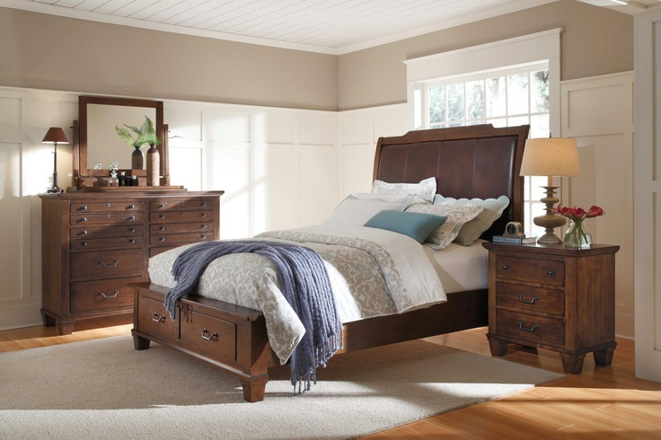 The 39 winston 39 bedroom collection from kincaid furniture for Kincaid american journal bedroom furniture