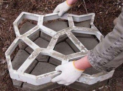 Kocie Łby 60x60x6 cm - Forma do betonu