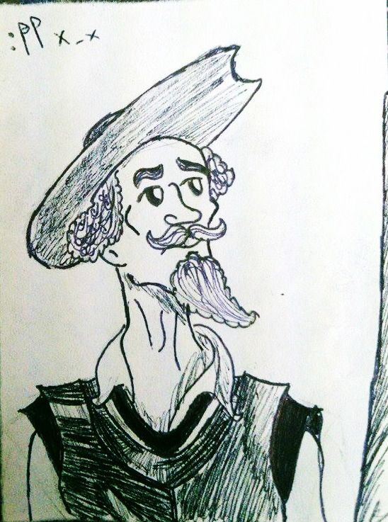 #Inktober2015 Don Quijote