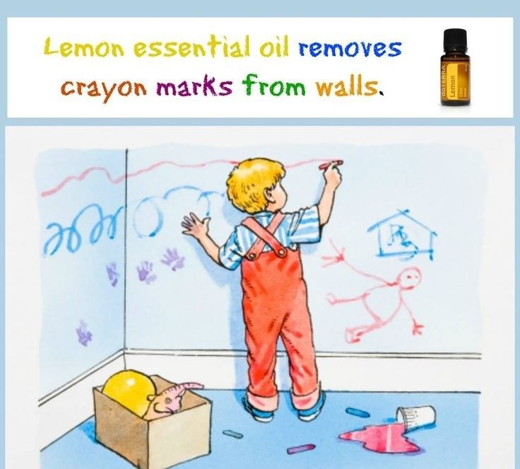 🌿Use lemon essential oil to remove sharpie marker from countertops, walls, etc.🍋