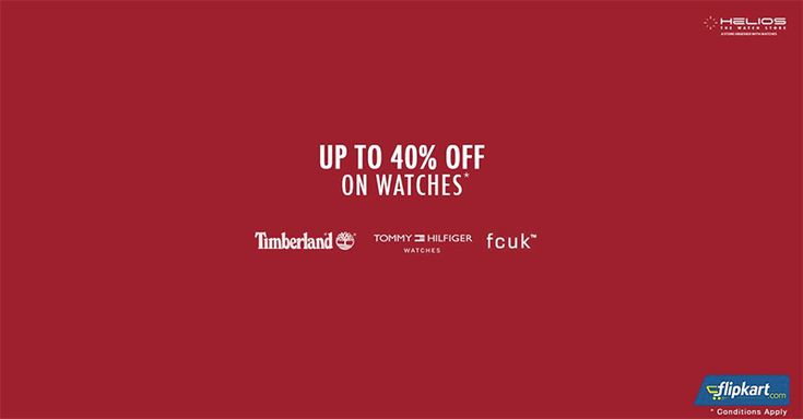 Luxury at its best price! #Flipkart offering up to 40% OFF on stylish range of Premium Brand #Watches from #Timberland, Tommy #Hilfiger and #FCUK   #Watches #Shopping #India #Deals #offers
