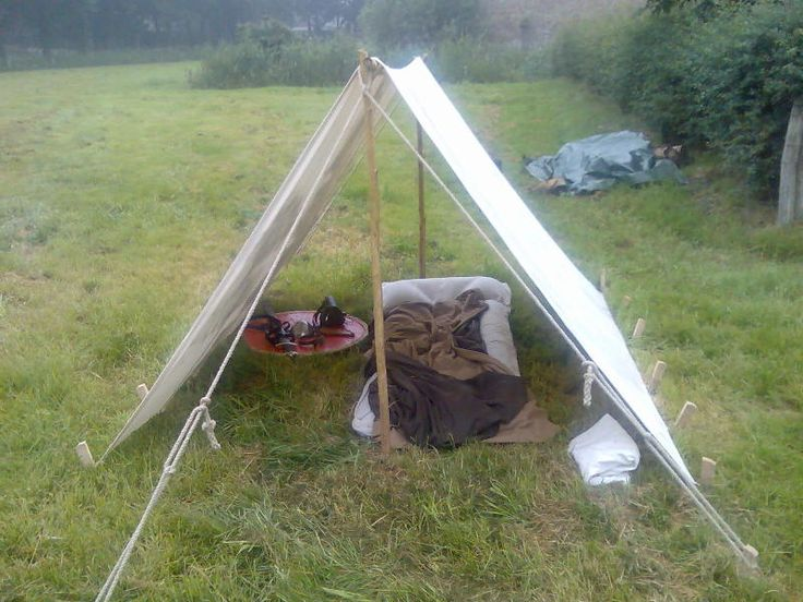 V simple a frame tent medieval tentmaking pinterest for Homemade wall tent frame