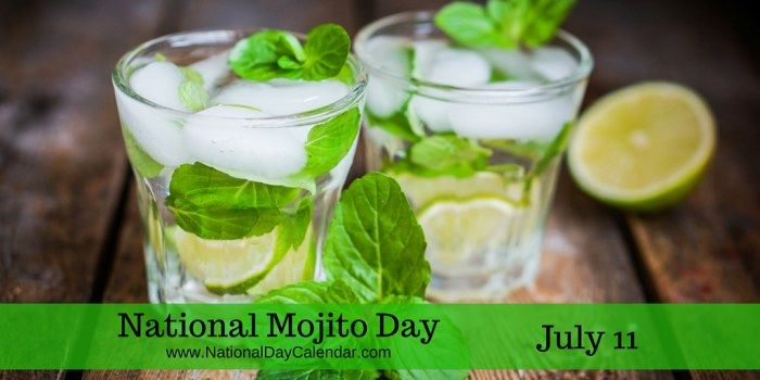Ernest Hemingway was a fan - Cuban highball white rum, sugar, lime juice, sparkling water  int.#NationalMojitoDay