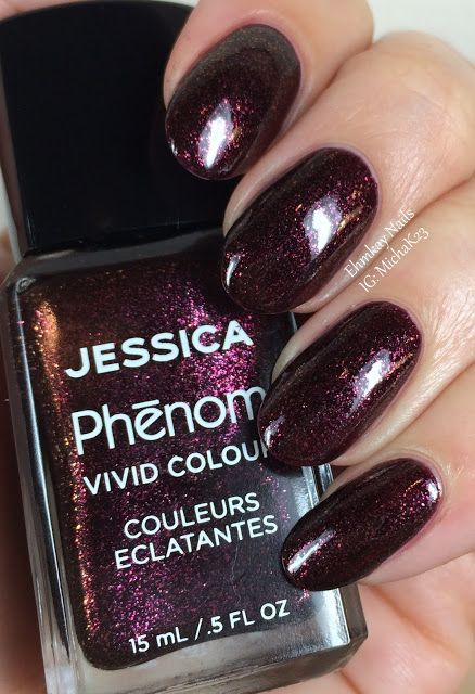 ehmkay nails: Jessica Cosmetics Phenom Colors: Winter 2015 Swatches and Review: Embellished