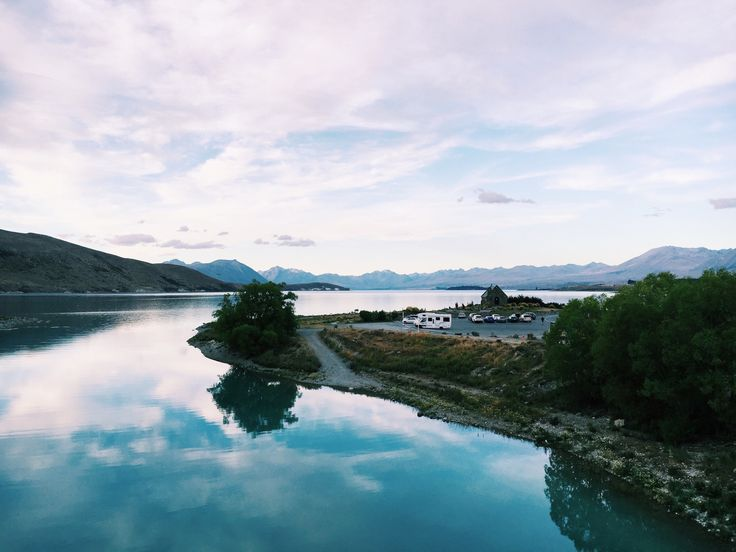 This doesn't do the icy blueness of Lake Tekapo justice #laketekapo #nature #adventure