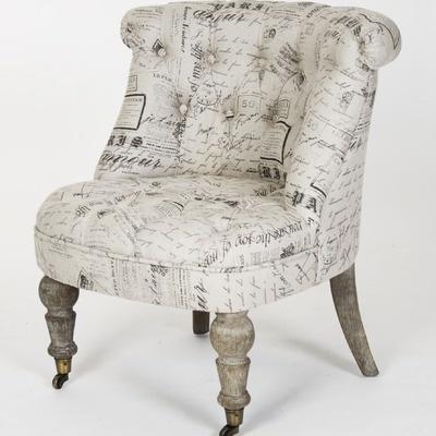 Zentique Inc. Amilie Slipper Chair
