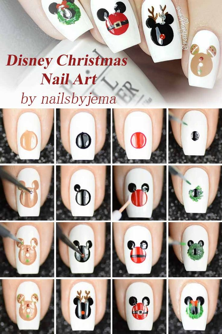 20 Charming Christmas Nail Art Ideas You'll Adore