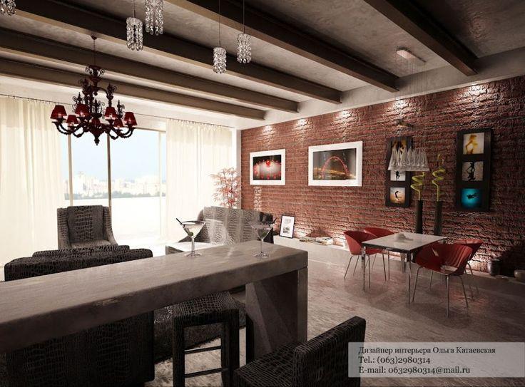 14 best idea for red brick living room images on pinterest