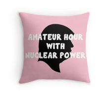 """""""am-a-t-euuu-r"""" by gasponce Throw Pillow @redbubble"""