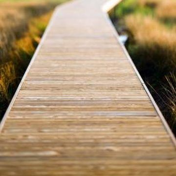 How To Make A Walkway With Deck Wood