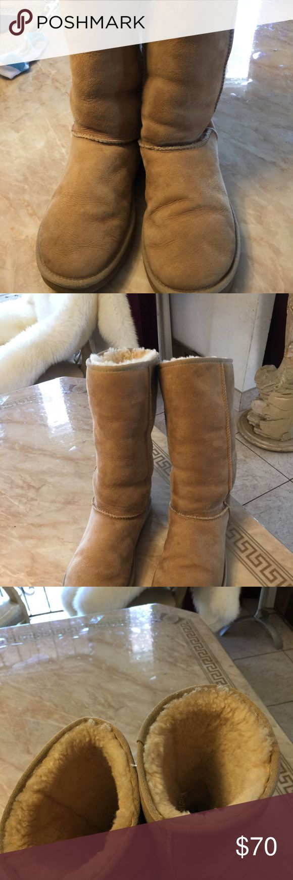 Tall ugg boots authentic Size 8 Pre loved gently used good condition Reasonable offers welcome UGG Shoes Winter & Rain Boots