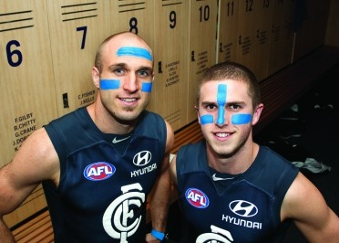 Chris Judd and Marc Murphy :-)