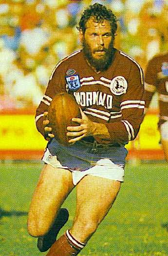 "20. Noel ""Crusher"" Cleal 1985 -1989 (125 games) Noel was destructive Second Rower who represented NSW in the State of Origin Series and the Australian national rugby league team. His Sydney career started with the Eastern Suburbs Roosters in 1980 where he played at Centre. He followed coach Bob Fulton to Manly in 1983. Fulton switched Cleal to Second Row, a move which assisted Cleal's ascendancy to State and National representative honours. He tasted premiership in 1987"