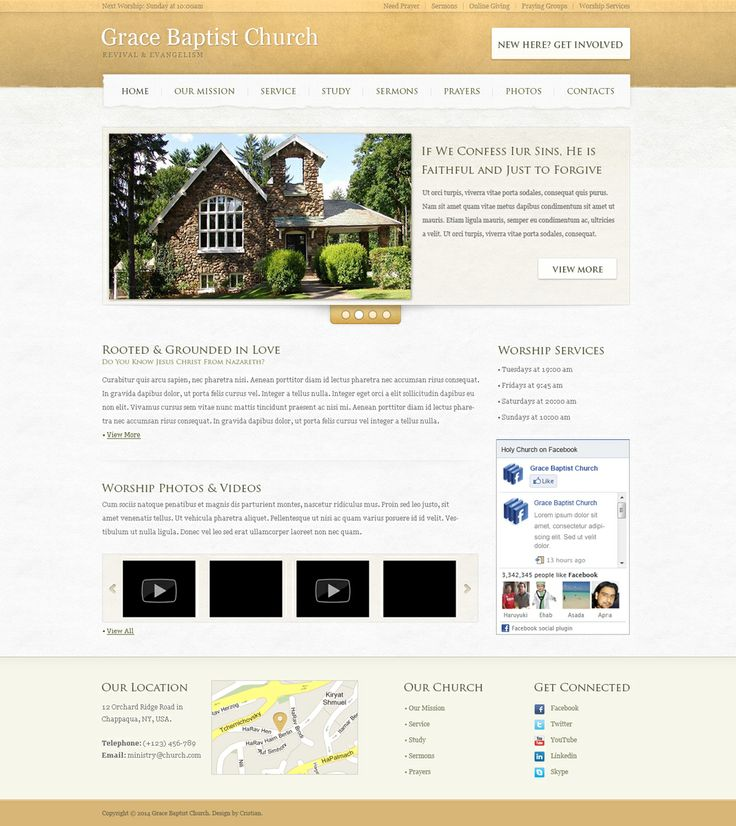 Church Home Page