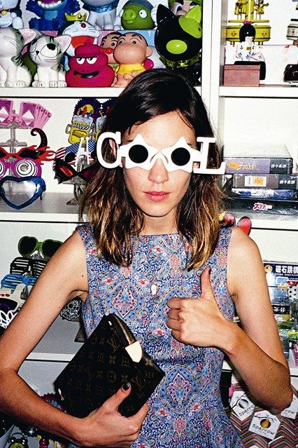 I strive to be like Alexa Chung she's a fashion icon and so funny. When I was little I would watch her show on MTV