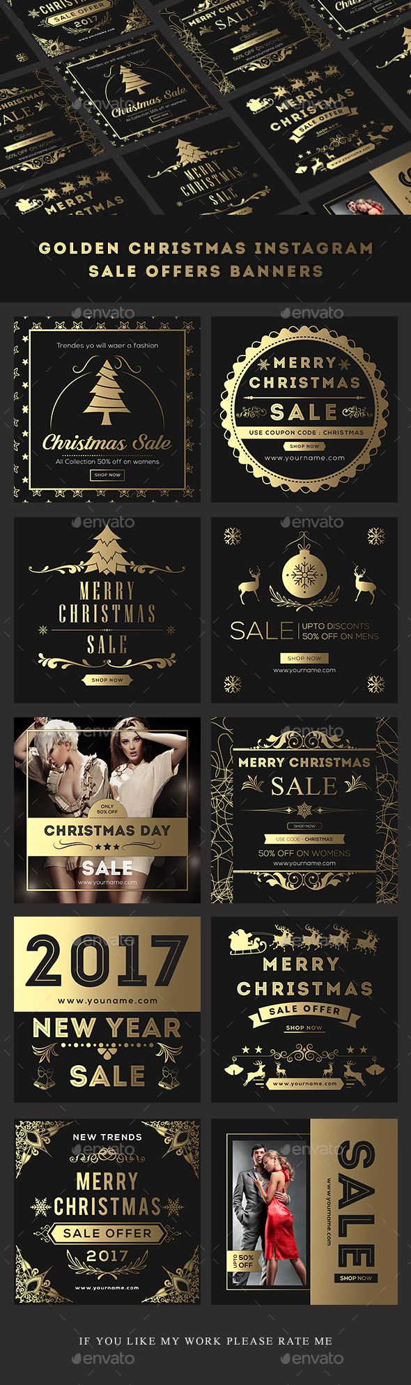 Christmas Sales Banners